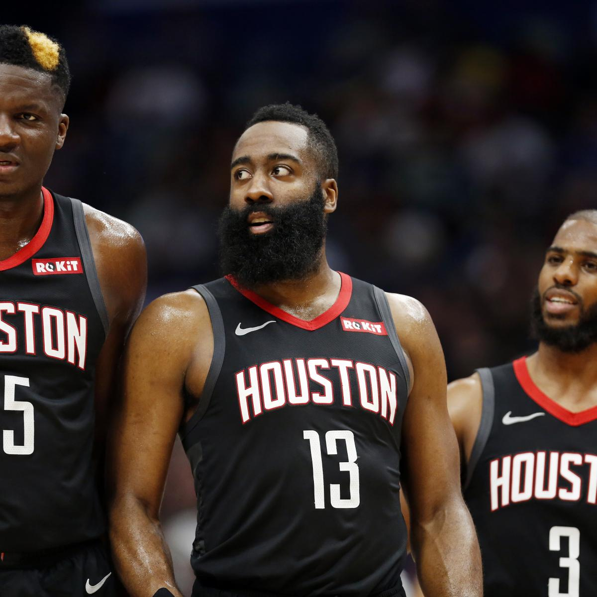 Houston Rockets Game Log