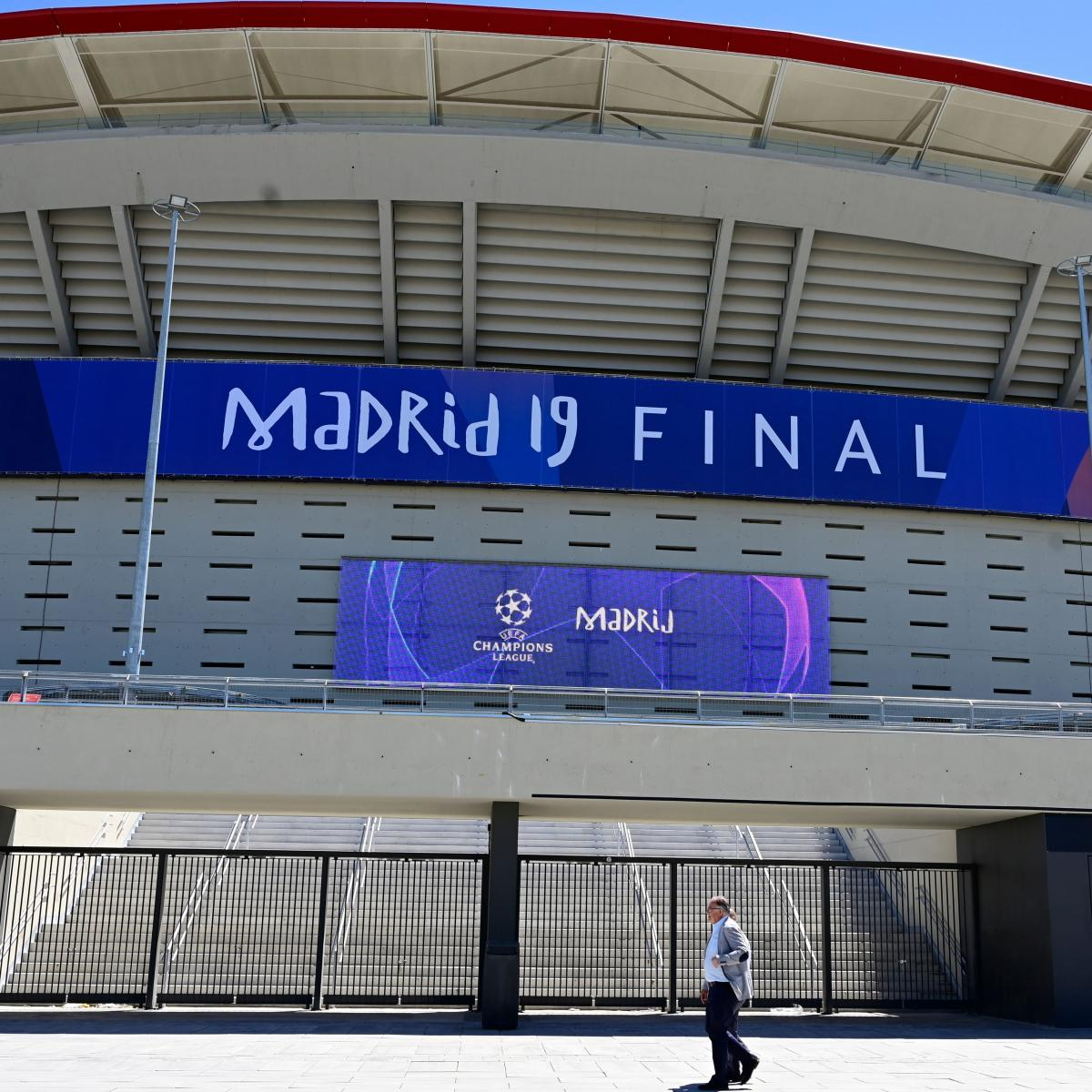 Champions League 2019: Final Odds, Live Stream, TV