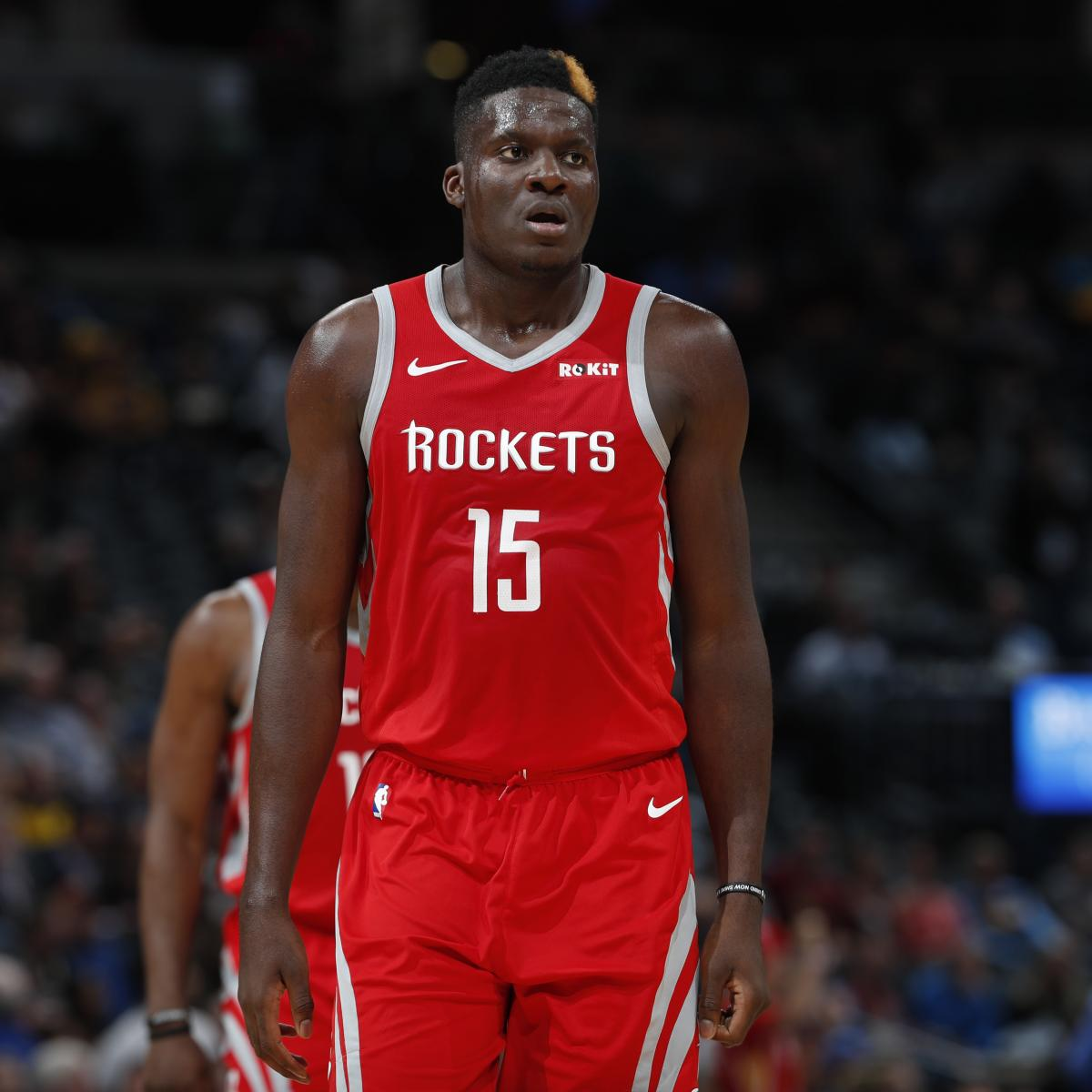 Report: Clint Capela Traded to Hawks in 4-Team Blockbuster