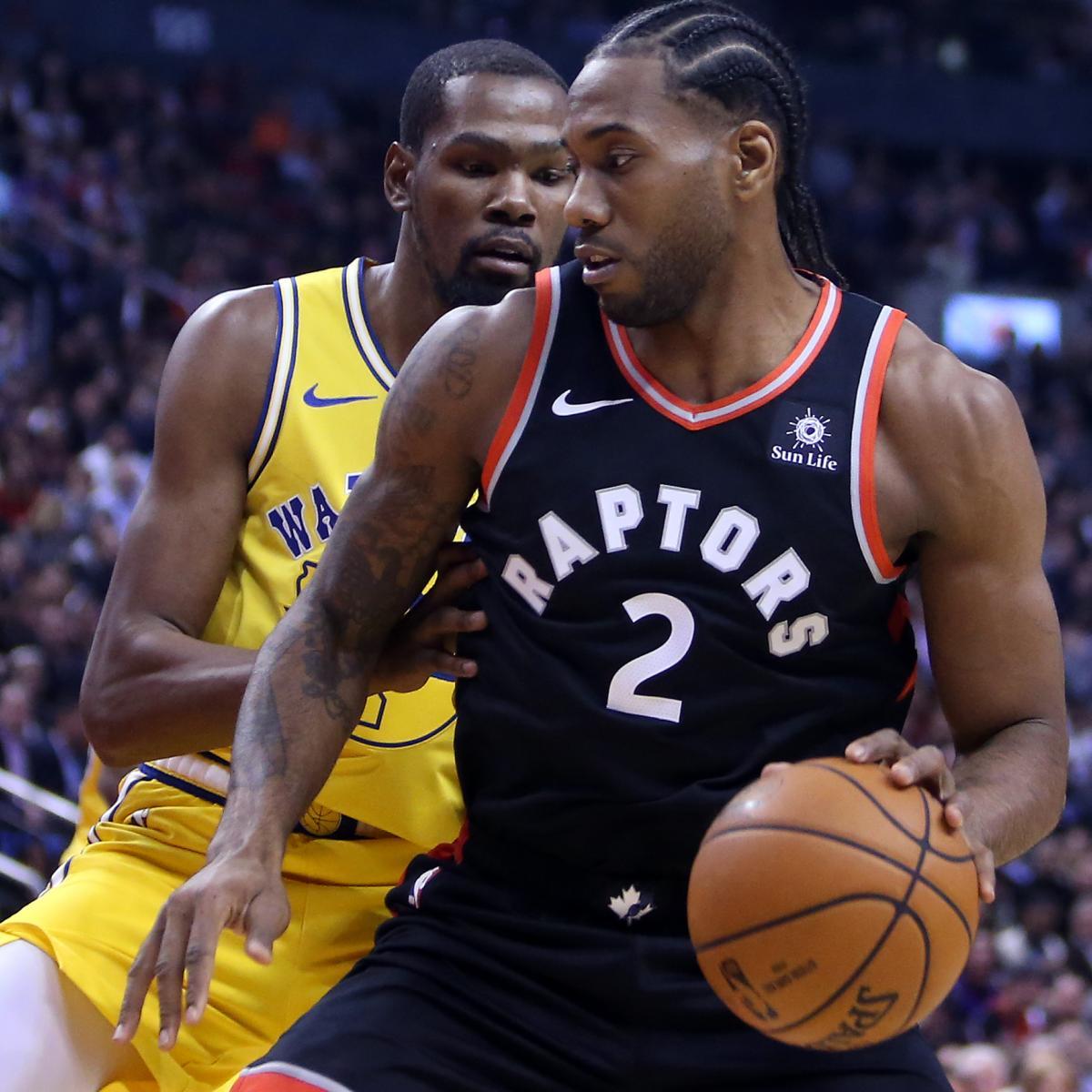 NBA Finals 2019: Warriors vs. Raptors TV Schedule and Game 1 Live Stream