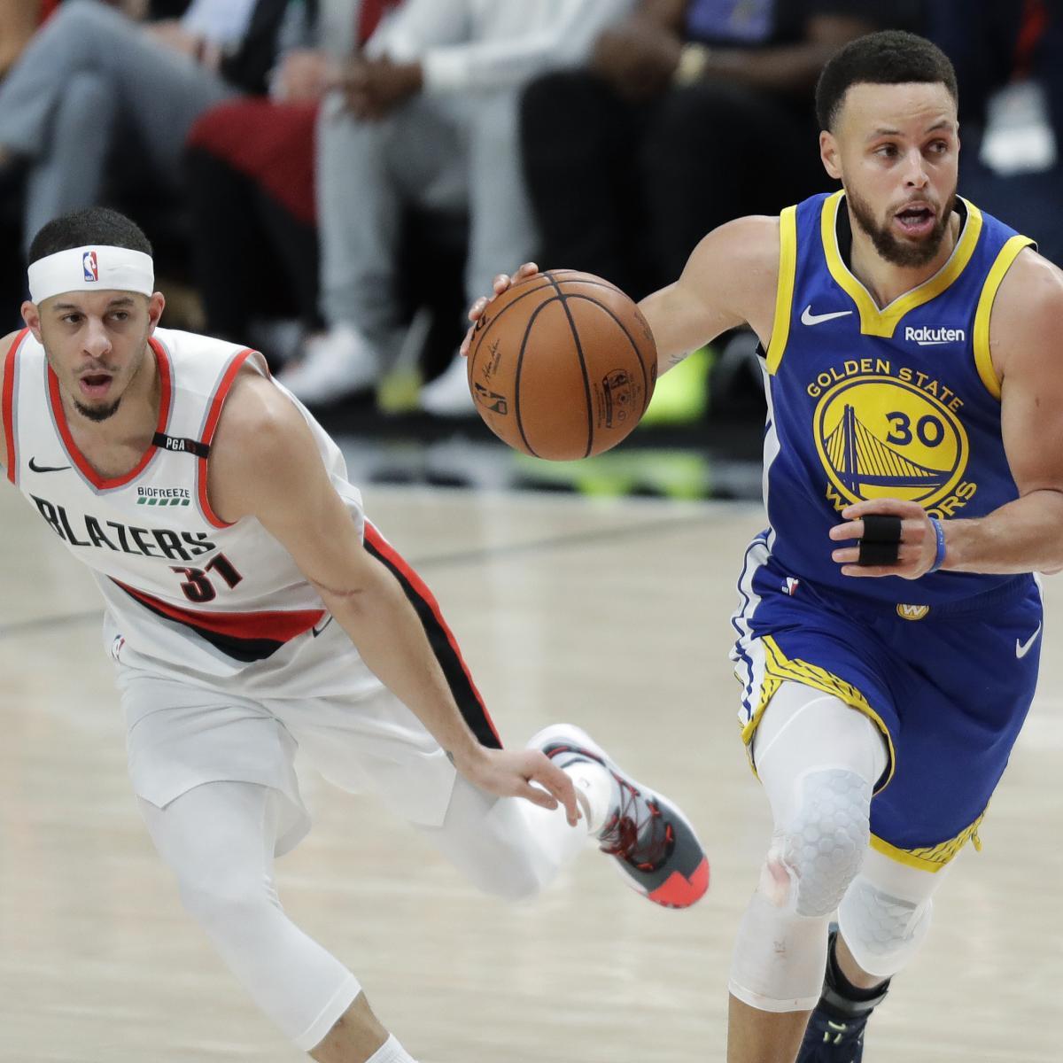 NBA Finals 2019: Warriors Vs. Raptors Game 1 Odds, Props