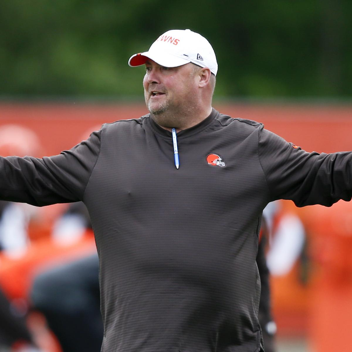 Cleveland Browns head coach Freddie Kitchens apparently isn't happy that Odell Beckham Jr. missed most of the squad's organized team activities...