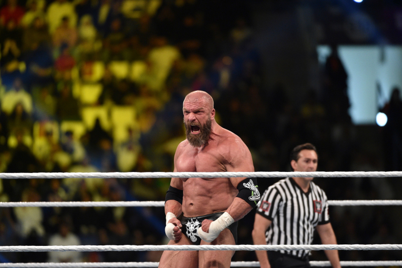 Video: WWE's Triple H Opens Up on Tearing Pectoral, Finishing Match and Surgery