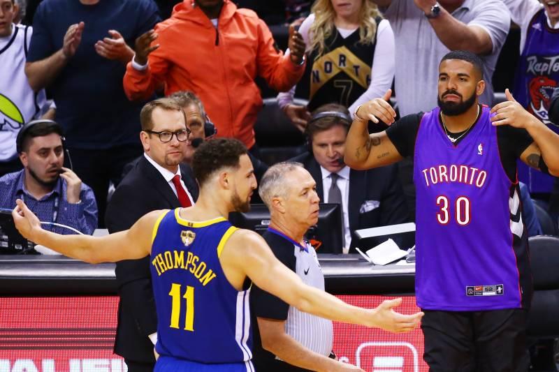 a0d6a337f55 Look: Drake Trolls Steph Curry, Draymond Green on IG After Raptors Beat  Warriors