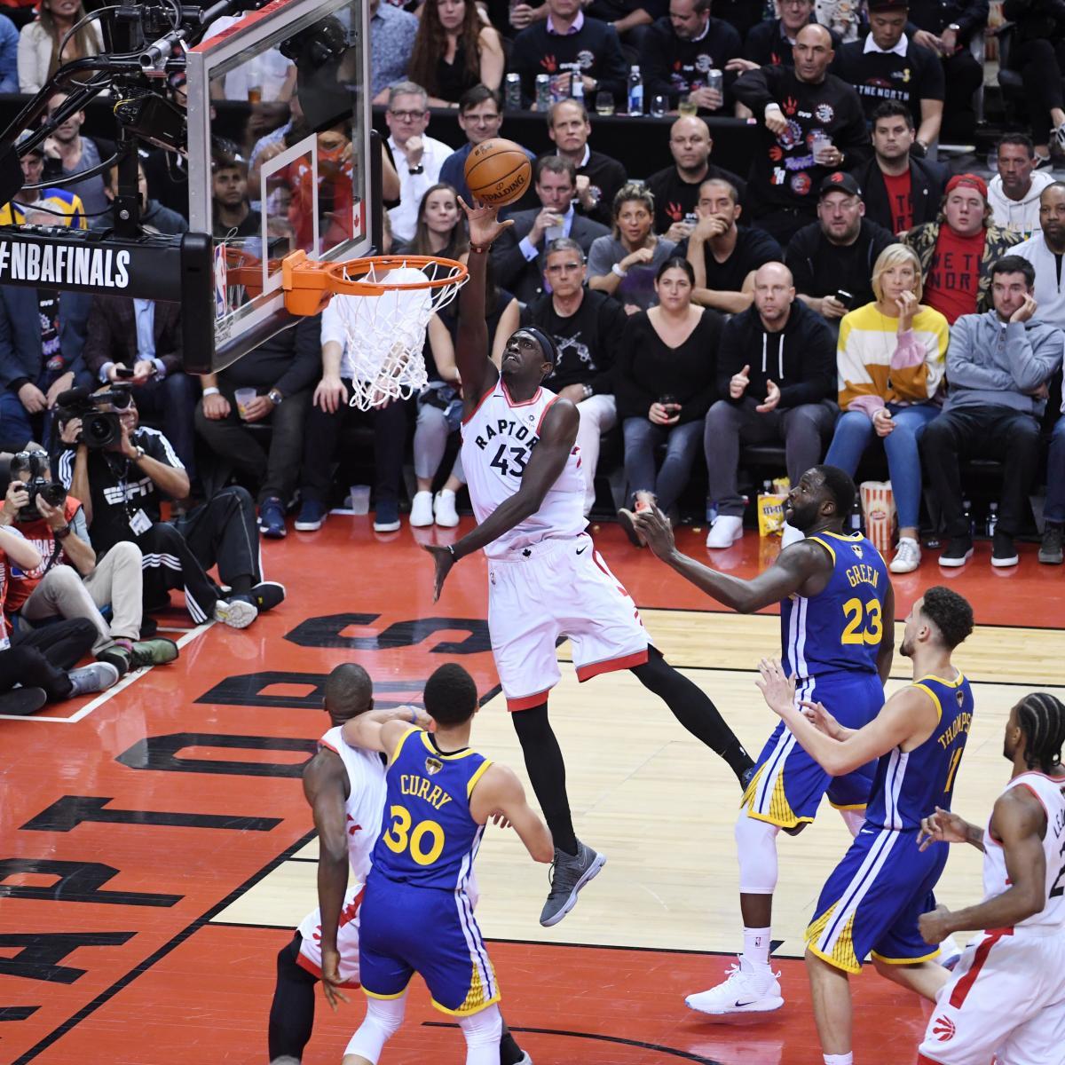 Warriors Vs. Raptors: Game 1 Stats And NBA Finals 2019