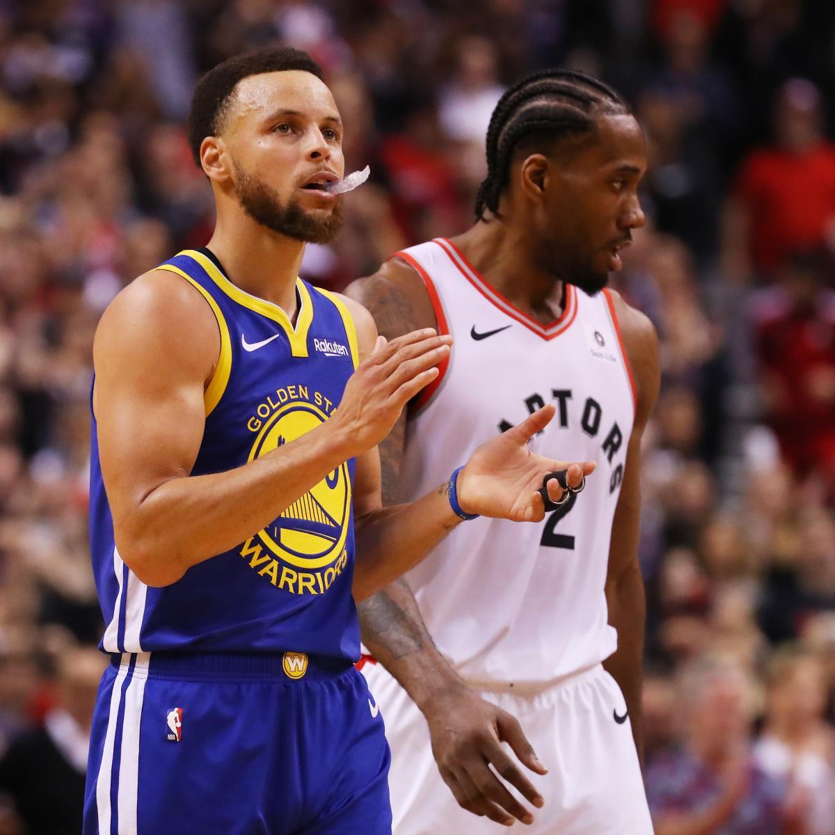 Warriors Game Broadcast Tv: NBA Finals 2019: Warriors Vs. Raptors Game 2 TV Schedule