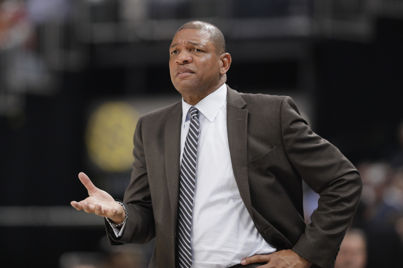 Clippers Fined $50,000 for Doc Rivers Comparing Kawhi Leonard to Michael Jordan
