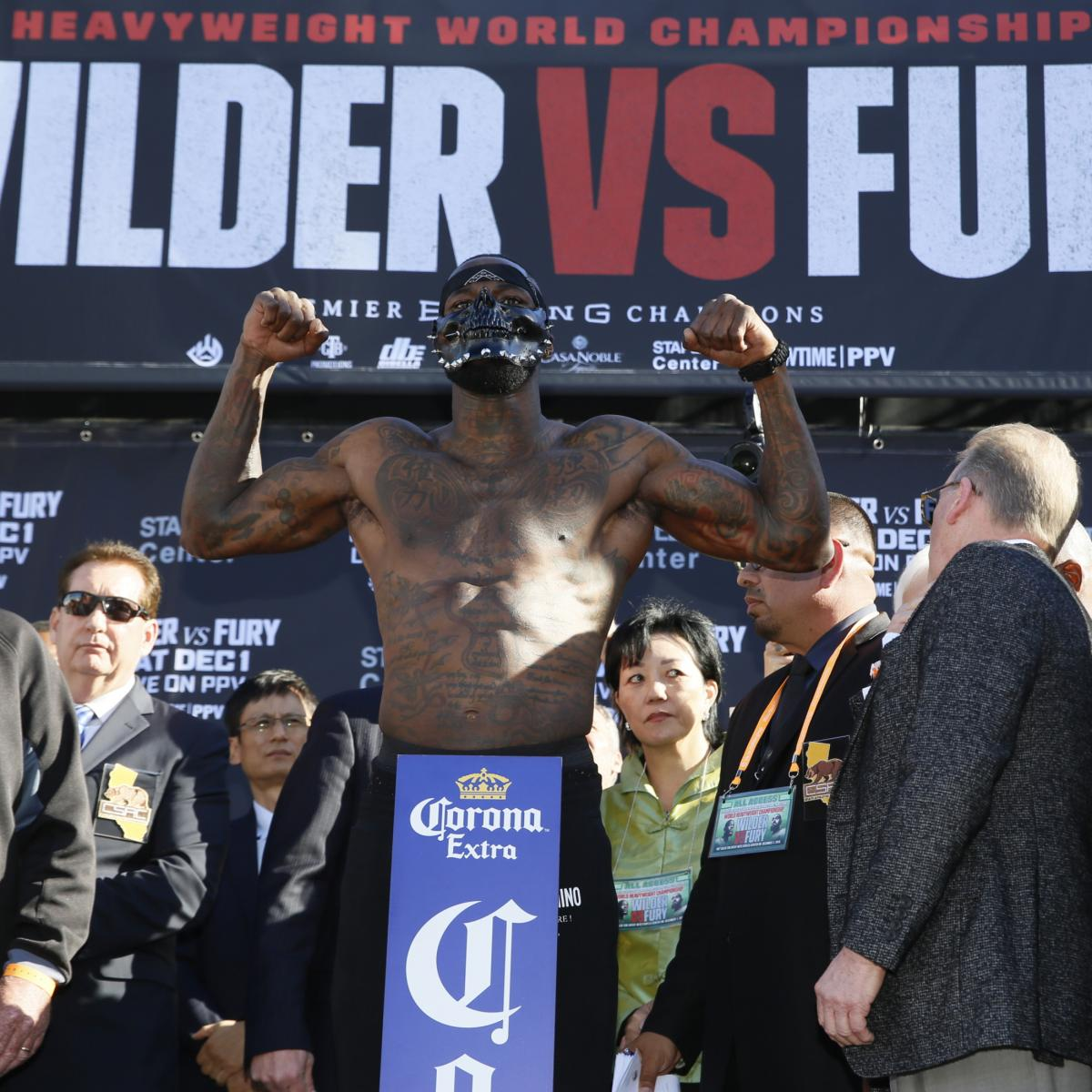 Deontay Wilder Promises To Knock Out Tyson Fury In 2020