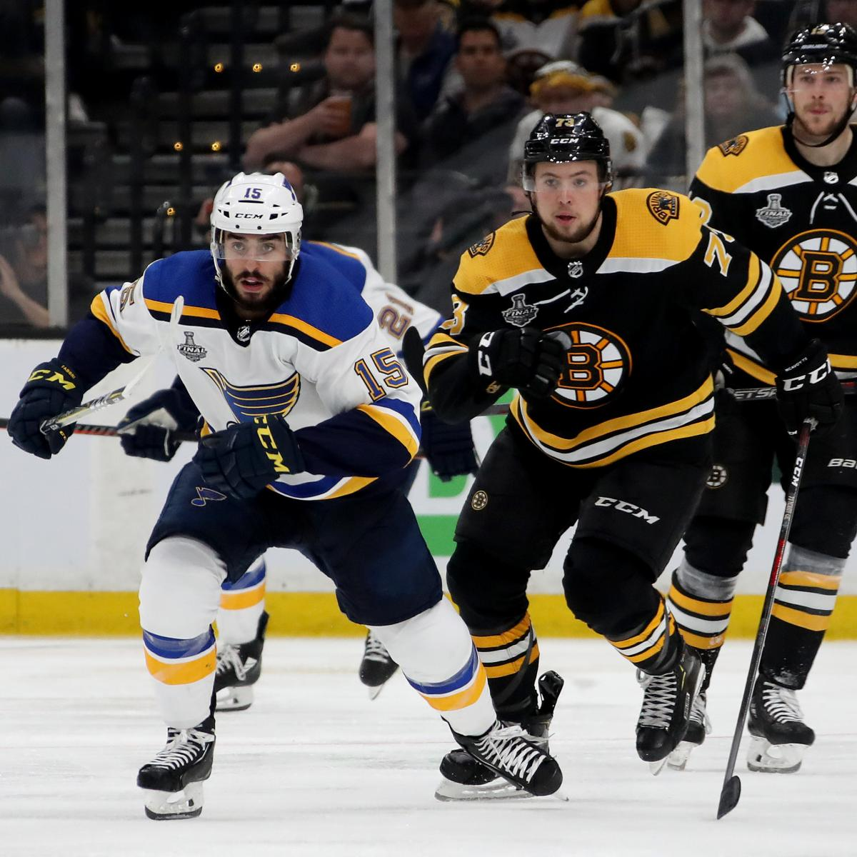 NHL Stanley Cup Final 2019: Bruins Vs. Blues Game 3 Odds