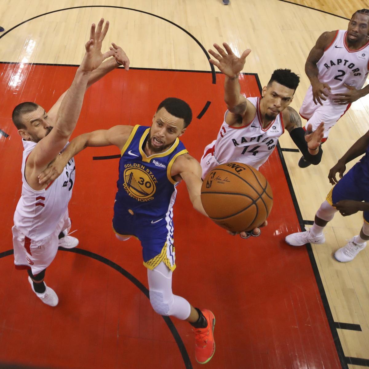 NBA Finals 2019: Warriors Vs. Raptors Game 2 Vegas Odds