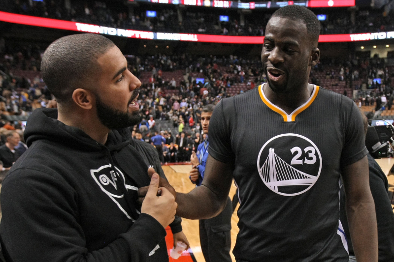 Draymond Green, Drake Had Dinner Together After NBA Finals Game 1 Argument