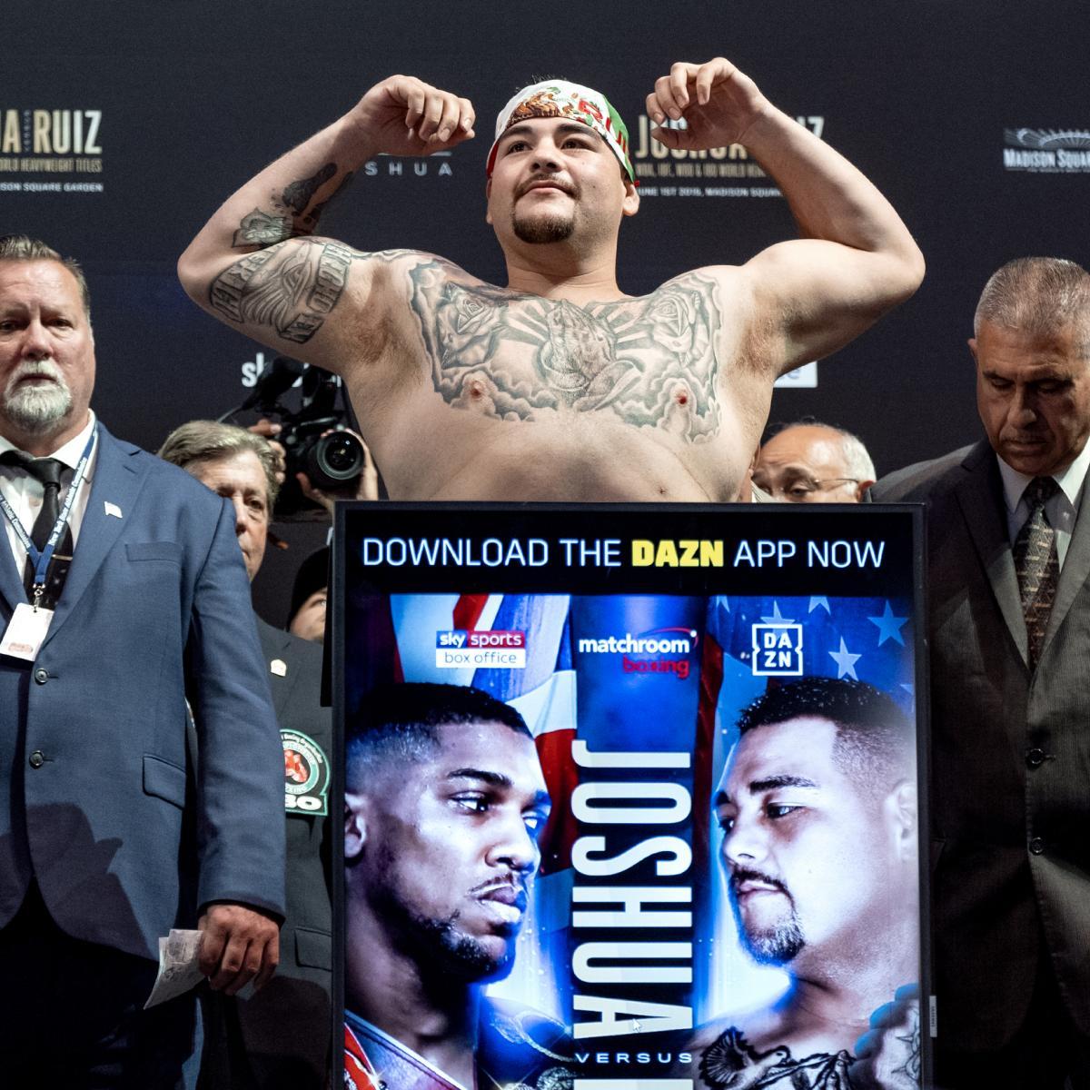 Andy Ruiz Jr. Stuns Anthony Joshua In Heavyweight Fight
