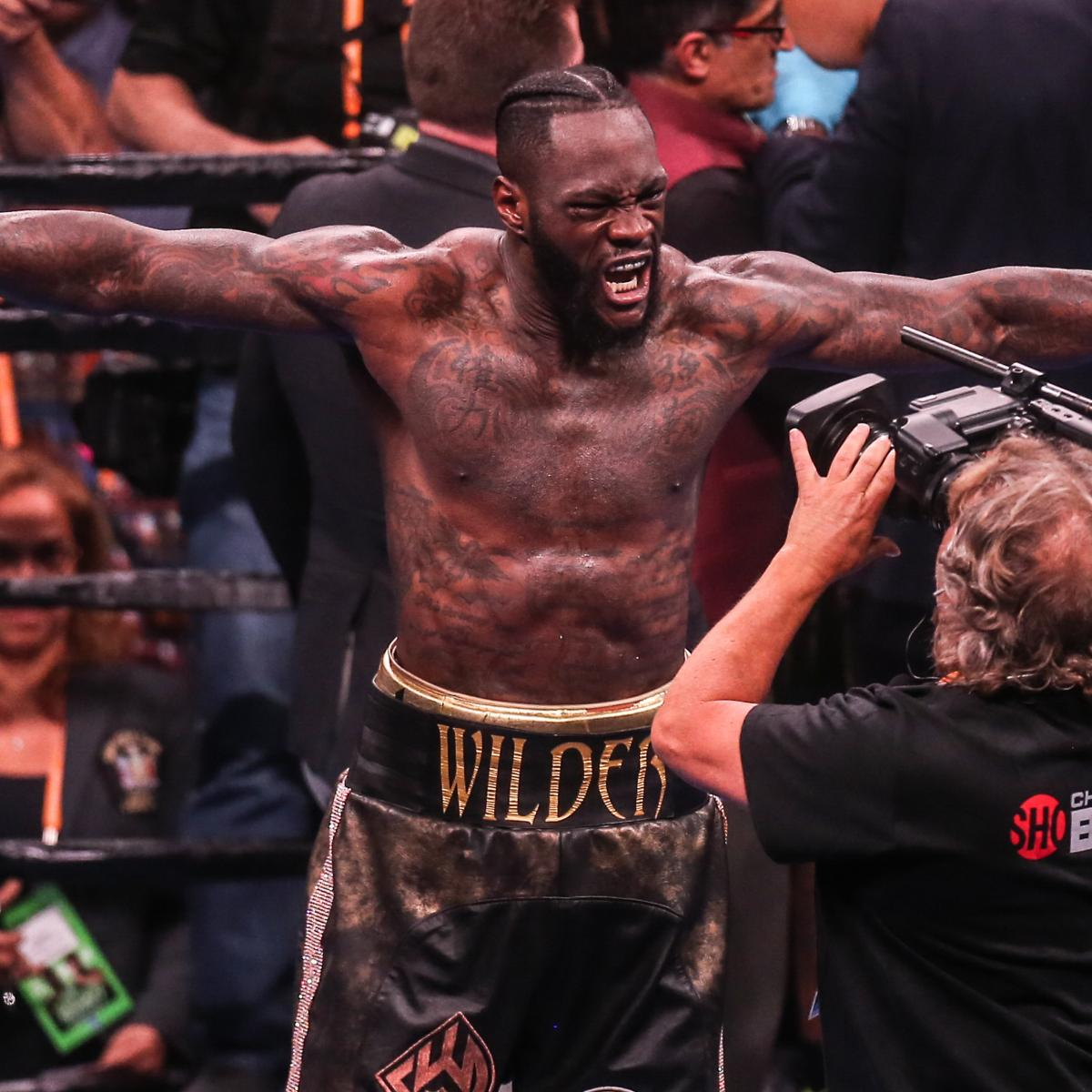 Deontay Wilder: Anthony Joshua Not 'True Champion' After
