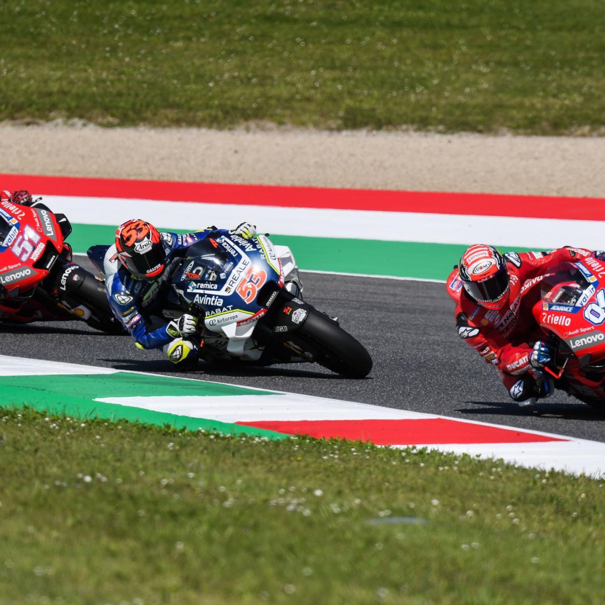 MotoGP Grand Prix Of Italy 2019 Results: Danilo Petrucci