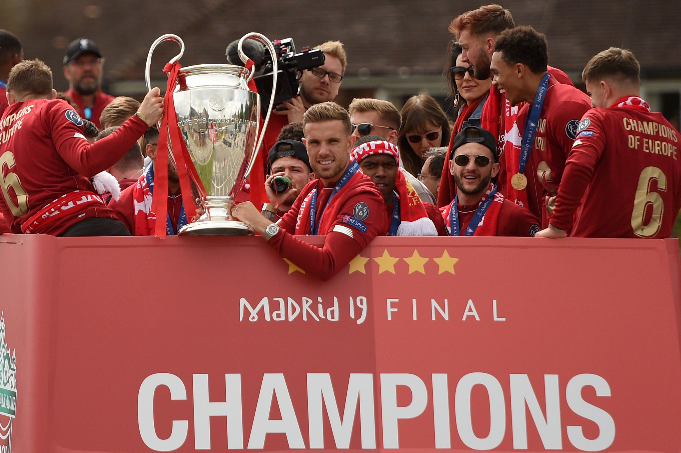 Liverpool Parade 2019 Twitter Reaction Photos Videos And More After Ucl Win Bleacher Report Latest News Videos And Highlights