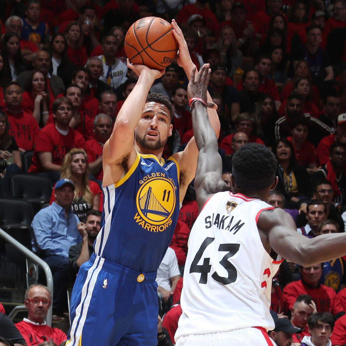 Warriors Come Out To Play Bleacher Report: Warriors' Klay Thompson Suffers Hamstring Injury; Expects