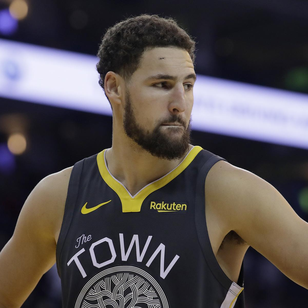 Warriors Full Game Highlights Game 3: Warriors' Klay Thompson Questionable For Game 3 With