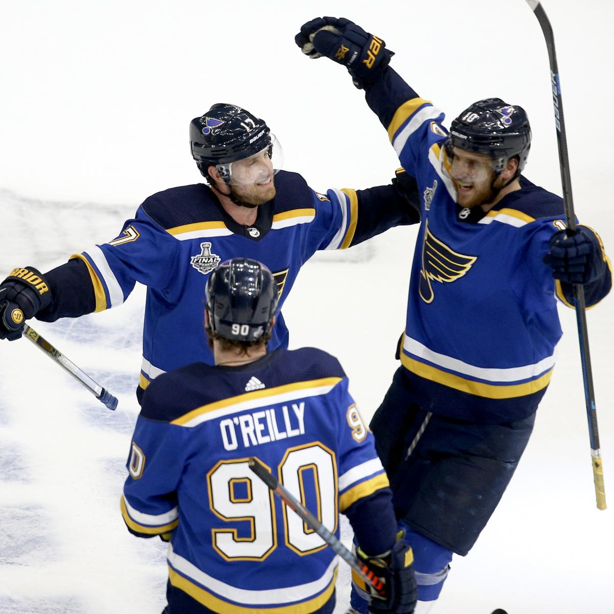 Bruins Vs. Blues: Game 4 Stats And NHL Final 2019 Game 5