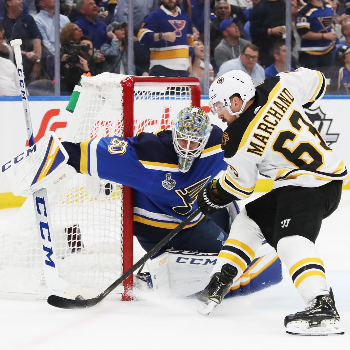 Blues Vs. Bruins Game 5 Odds, TV Schedule, Live Stream For
