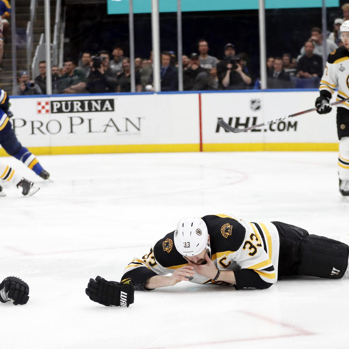 Report: Bruins' Zdeno Chara Diagnosed With Broken Jaw