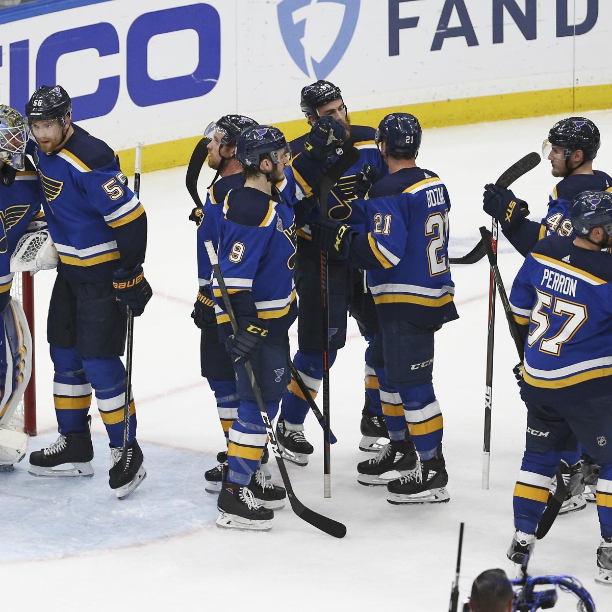 NHL Stanley Cup Final 2019: Blues Vs. Bruins Game 5 TV