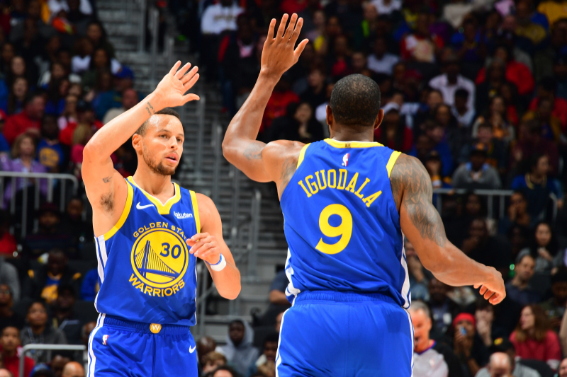 Warriors' Andre Iguodala Says Steph Curry 'Doesn't Go About Life as a Superstar'