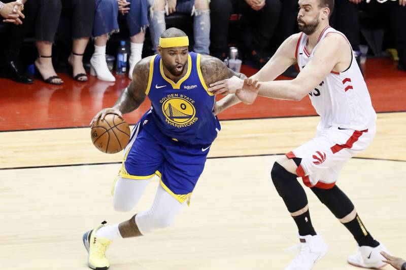 new concept 1d2b8 ecd42 Warriors' DeMarcus Cousins: 'I Was Ready to Quit' After Torn ...