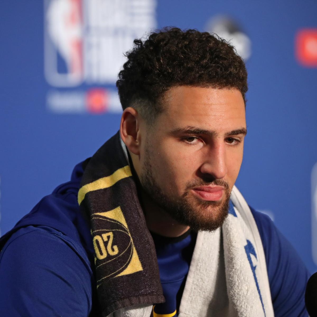 Warriors Full Game Highlights Game 3: Report: Warriors 'Prefer' Klay Thompson Sits Out Game 3