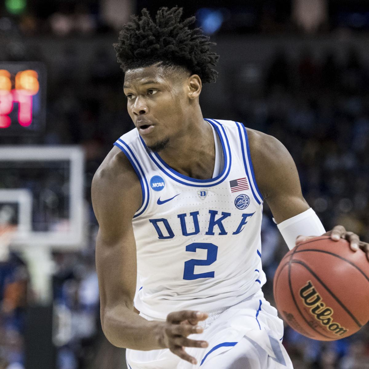 Predicting The Future All Stars Of 2018 Nba Rookie Class: 2019 NBA Mock Draft: Analyzing Riskiest Prospects And 1st