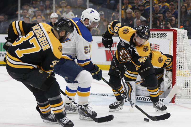 NHL Stanley Cup Final 2019: Blues vs. Bruins Game 5 Odds, Props, Predictions