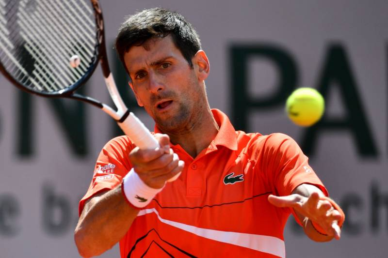 French Open 2019 Results Djokovic Thiem Advance Men S Women S