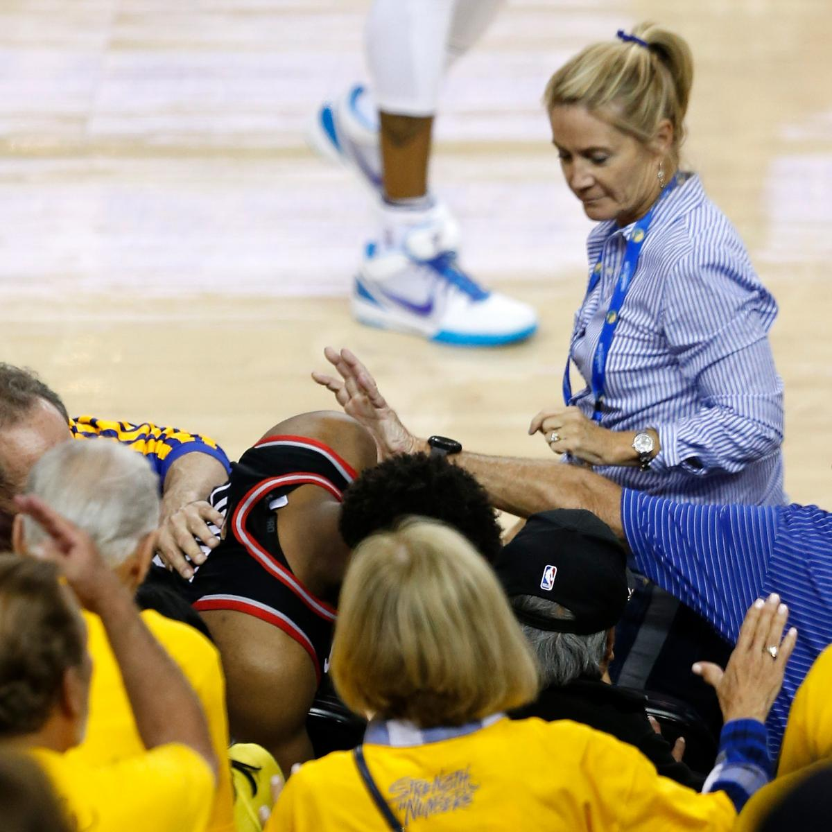 Steve Kerr Apologizes for Warriors Part-Owner Pushing Kyle Lowry in Game 3 Loss