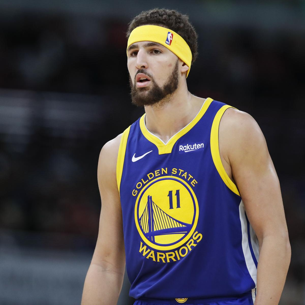 Warriors Kevin Durant Injury Update: Warriors News: Klay Thompson's Knee Injury Diagnosed As