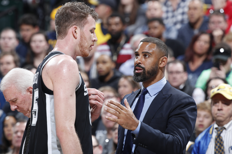 Spurs' Ime Udoka, 76ers Reportedly Agree to Contract to Join Brett Brown's Staff