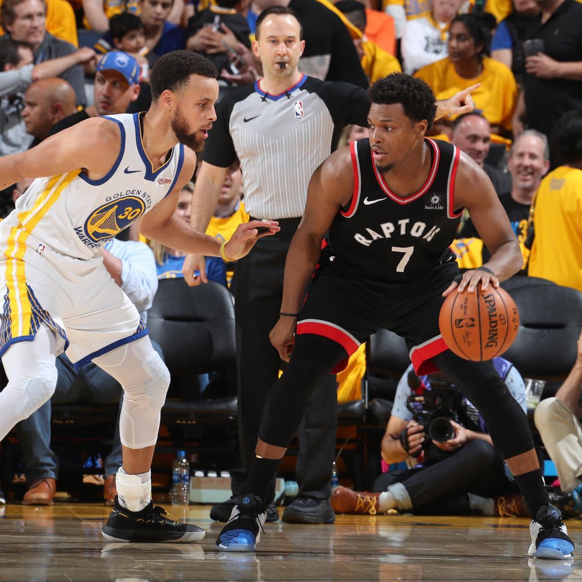 NBA Finals 2019: Raptors Vs. Warriors Game 4 TV Schedule