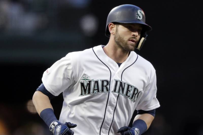 save off 3982b 17a6c Mariners' Mitch Haniger Placed on 10-Day Injured List with ...