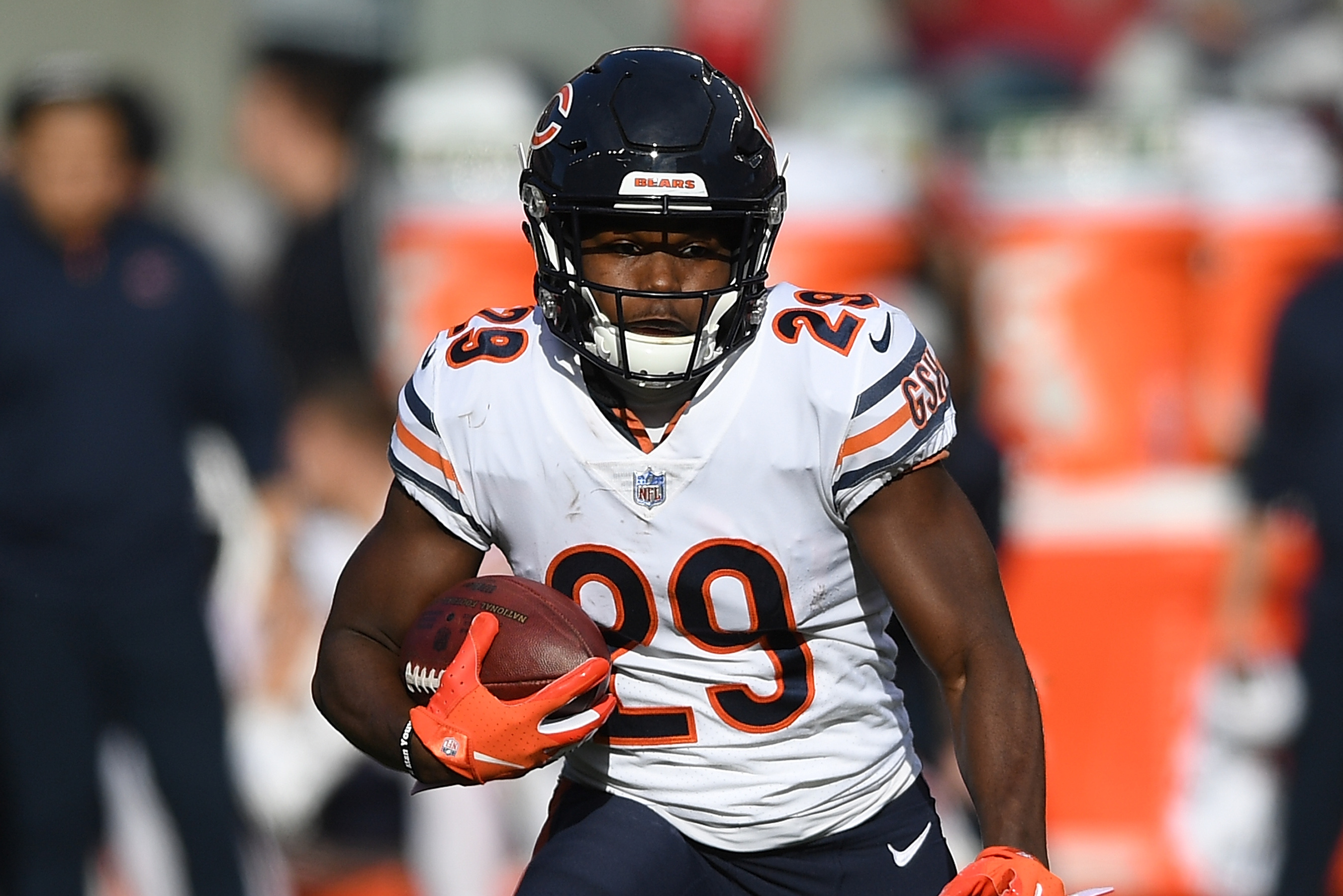 official photos 93348 7f047 Video: Bears Reveal 1936 Throwback Uniforms in Celebration ...