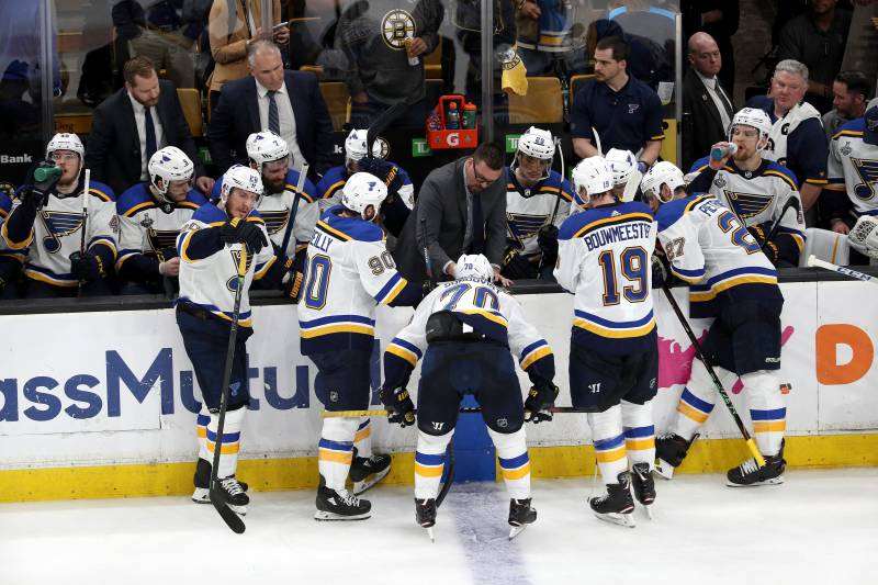 NHL Stanley Cup Final 2019: Bruins vs  Blues TV Schedule, Odds, Game
