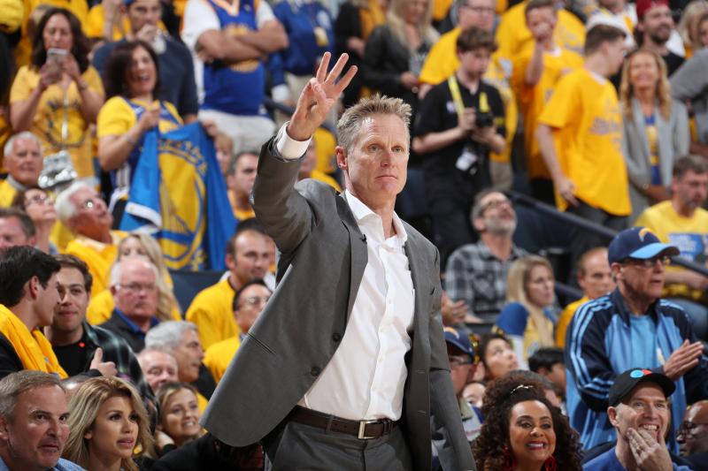Steve Kerr on Warriors' 3-1 NBA Finals Deficit: 'I Don't Think It's Daunting'