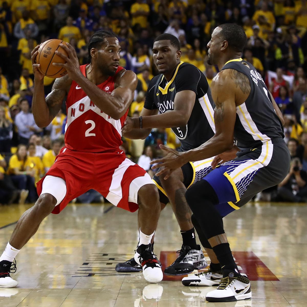 Raptors Vs. Warriors: Game 4 Stats And NBA Finals 2019