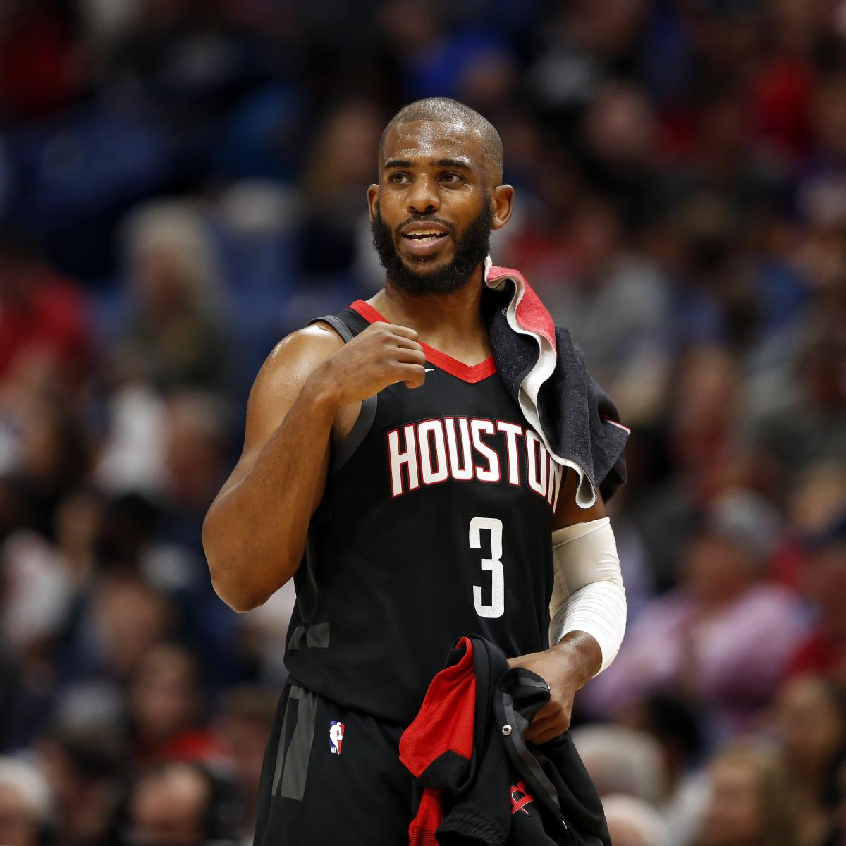 Houston Rockets News Trade: Chris Paul Trade Rumors: Heat 'Expected' To Check In With