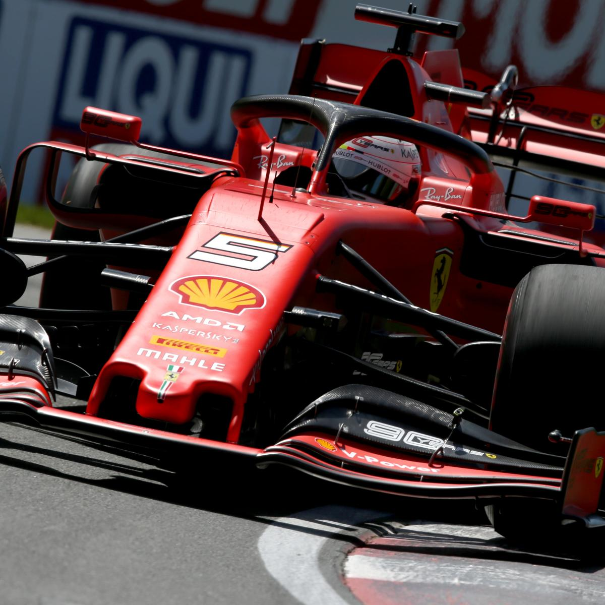 Canadian F1 Grand Prix 2019 Qualifying: Saturday's Results