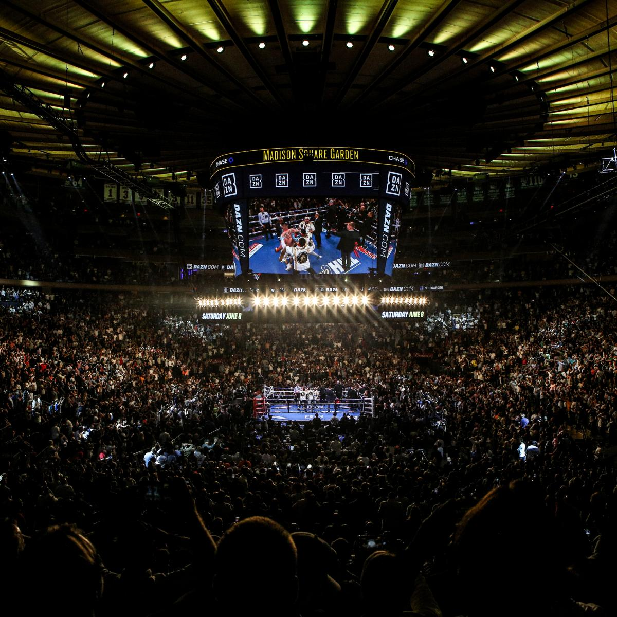 Anthony Joshua 'Seriously Considering' MSG For Site Of