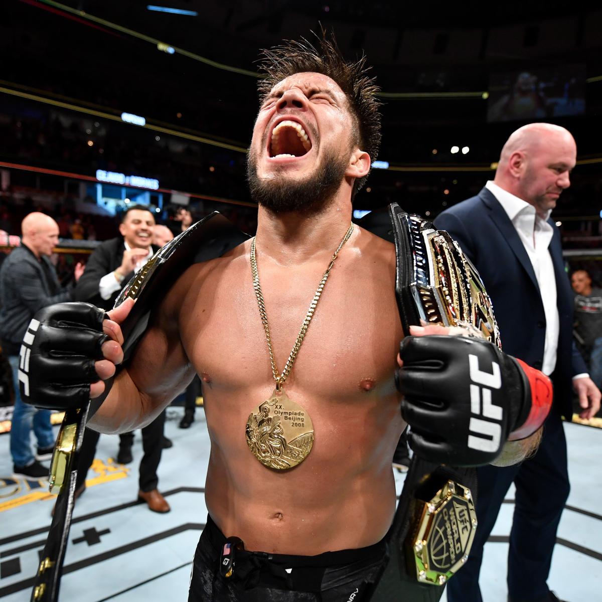 Henry Cejudo Is UFC's Strangest Superstar After Becoming 2-Division Champion