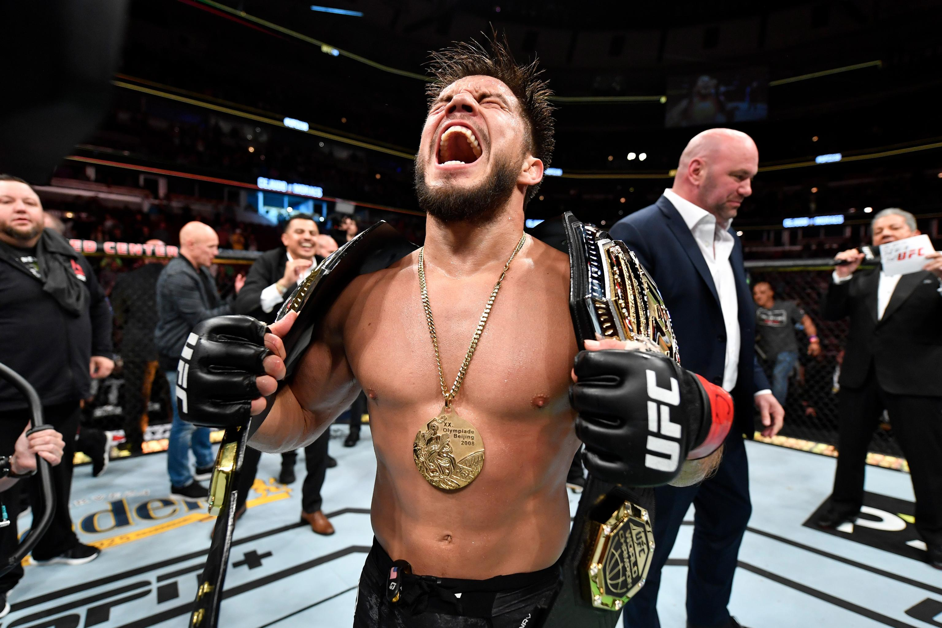 Henry Cejudo Is Ufc S Strangest Superstar After Becoming 2 Division Champion Bleacher Report Latest News Videos And Highlights