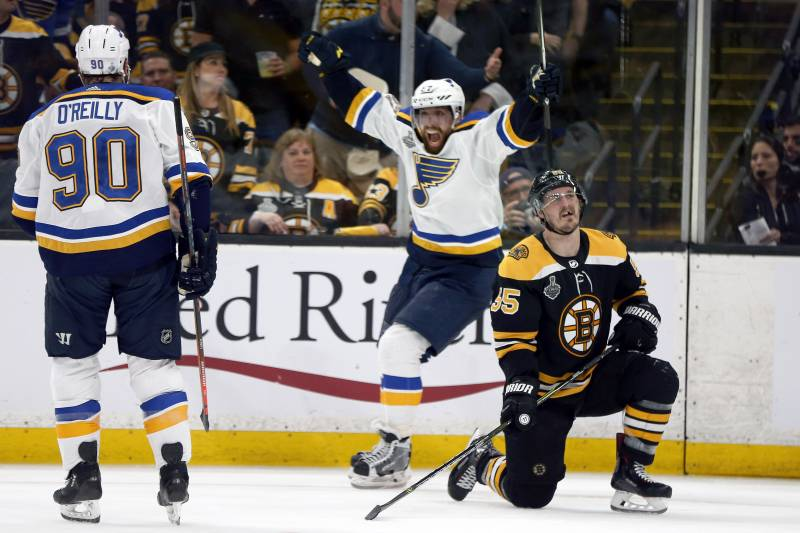 Nhl Stanley Cup Final 2019 Bruins V Blues Game 6 Tv Schedule Live