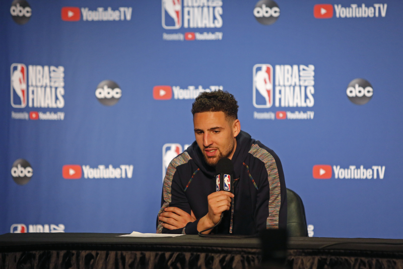 NBA Rumors: Warriors' Klay Thompson 'Locked In' for 'Space Jam 2' Role