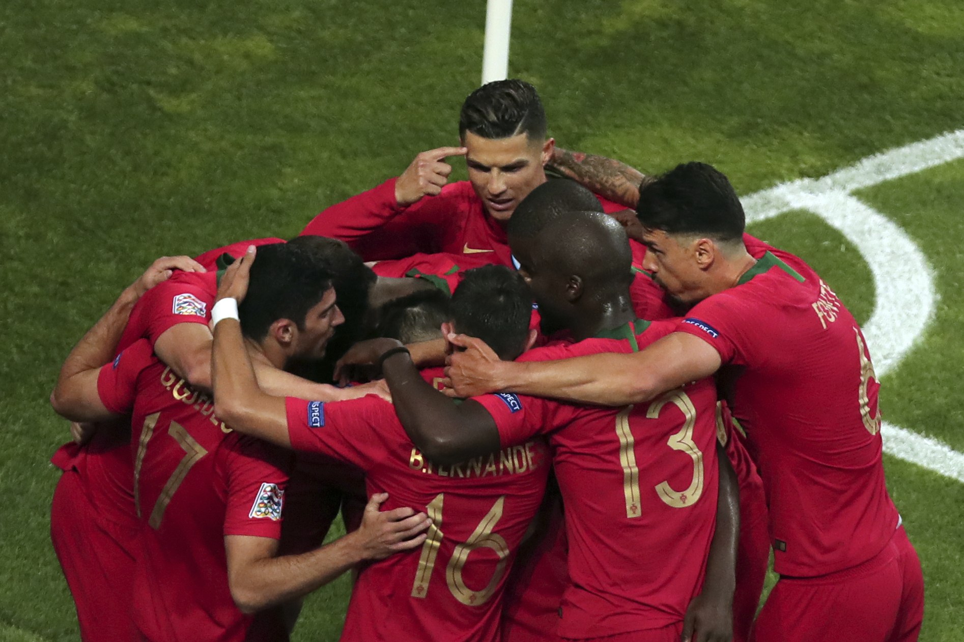 Cristiano Ronaldo Portugal Beat Netherlands To Win Uefa Nations League Final Bleacher Report Latest News Videos And Highlights