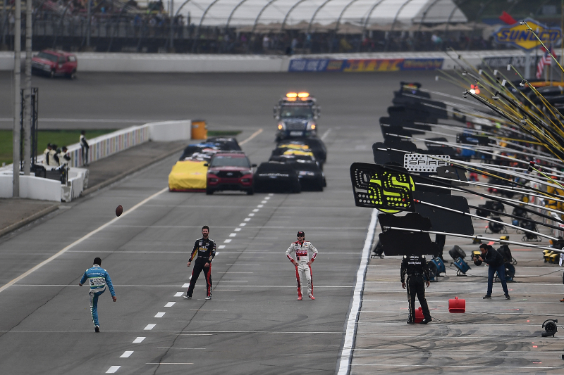 NASCAR at Michigan Postponed Due to Rain at FireKeepers Casino 400 Track