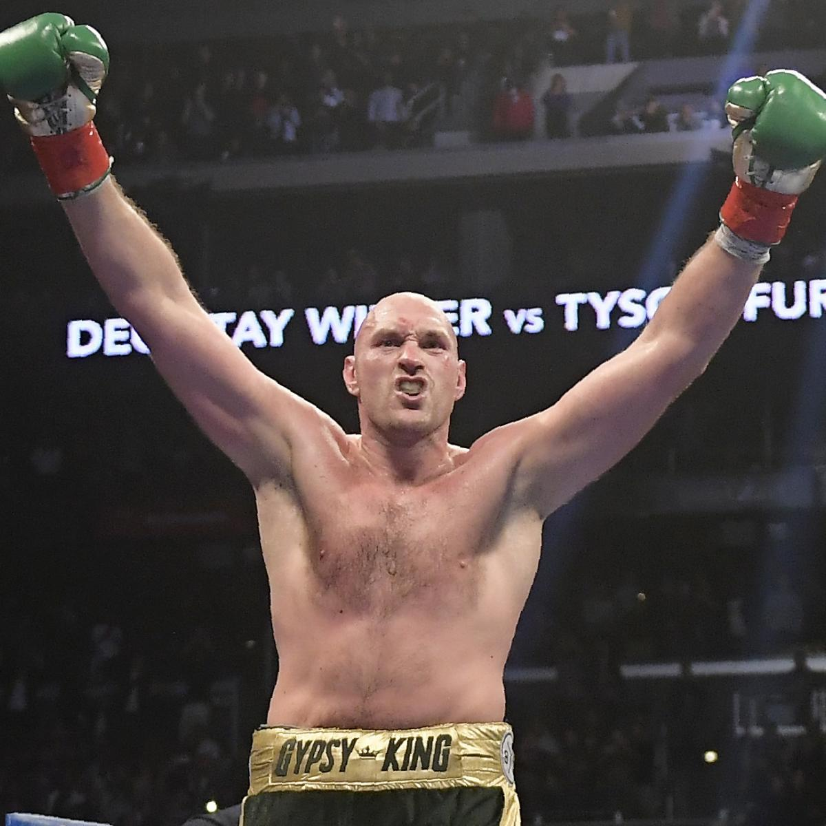 Video: Tyson Fury Says He 'Prayed To God To Kill Me' After